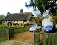 thatched property near Aldwick
